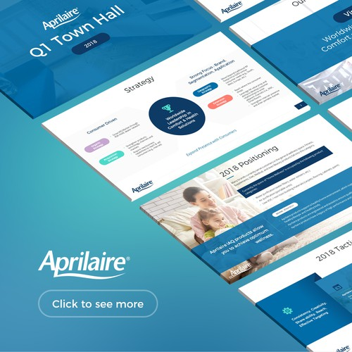 Power Point design for Aprilaire