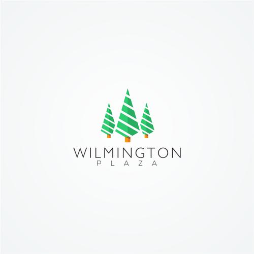 Logo concept for wilmington plaza
