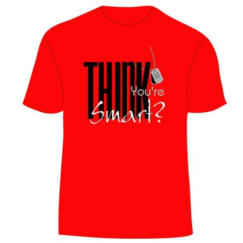 T shirt design for company contest