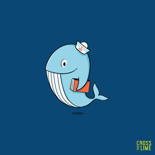 Reading Whale Character