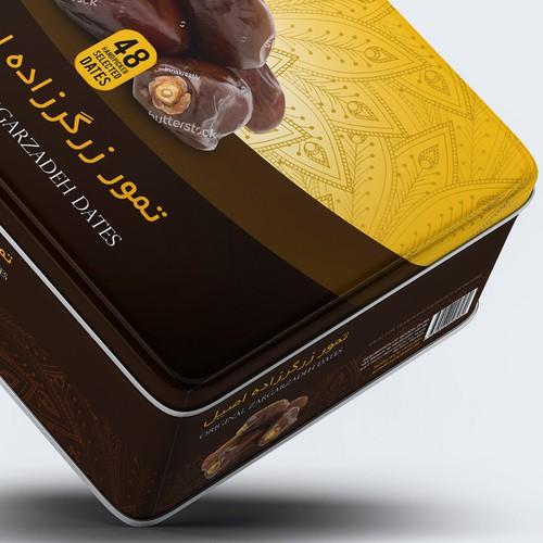Premium Dates Packaging