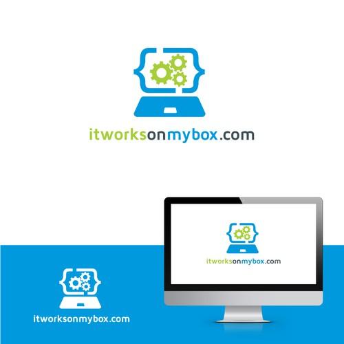 itworksonmybox.com logo design