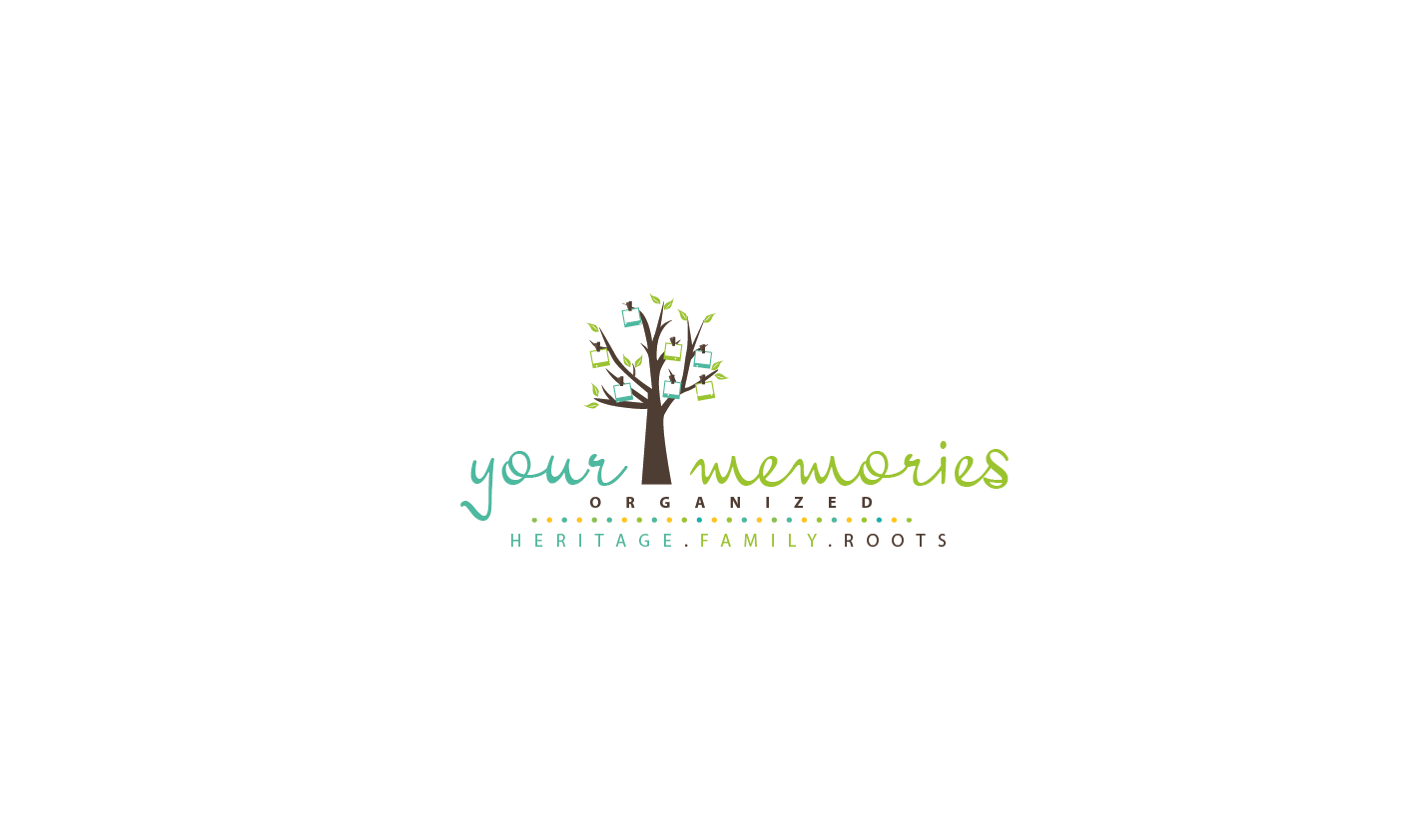 Help Your Memories/Organized with a new logo