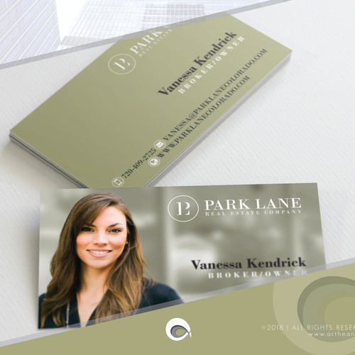 Business Card Design for Real Estate
