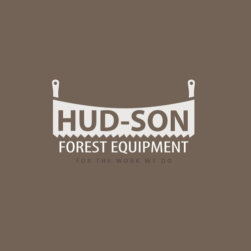 Hud-son Forest Equipment needs a new logo