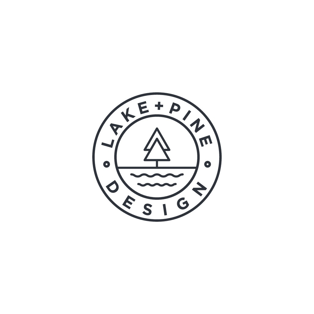 clean, minimal logo for new design brand
