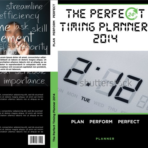 Cover book for The perfect timing planner 2014