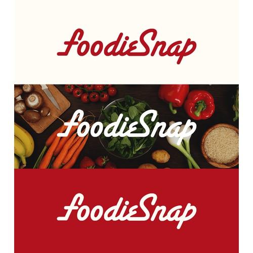 FoodieSnap Logo Design