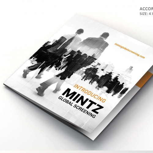 Accordion Brochure for MINTZ Global Screeing