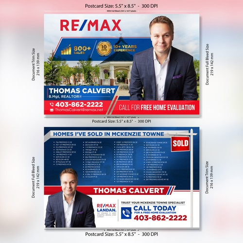 Postcard Design for Real Estate Agent