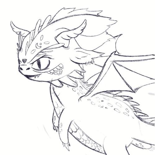Cute Dragon concept