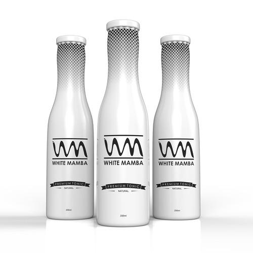Premium Tonic packaging design