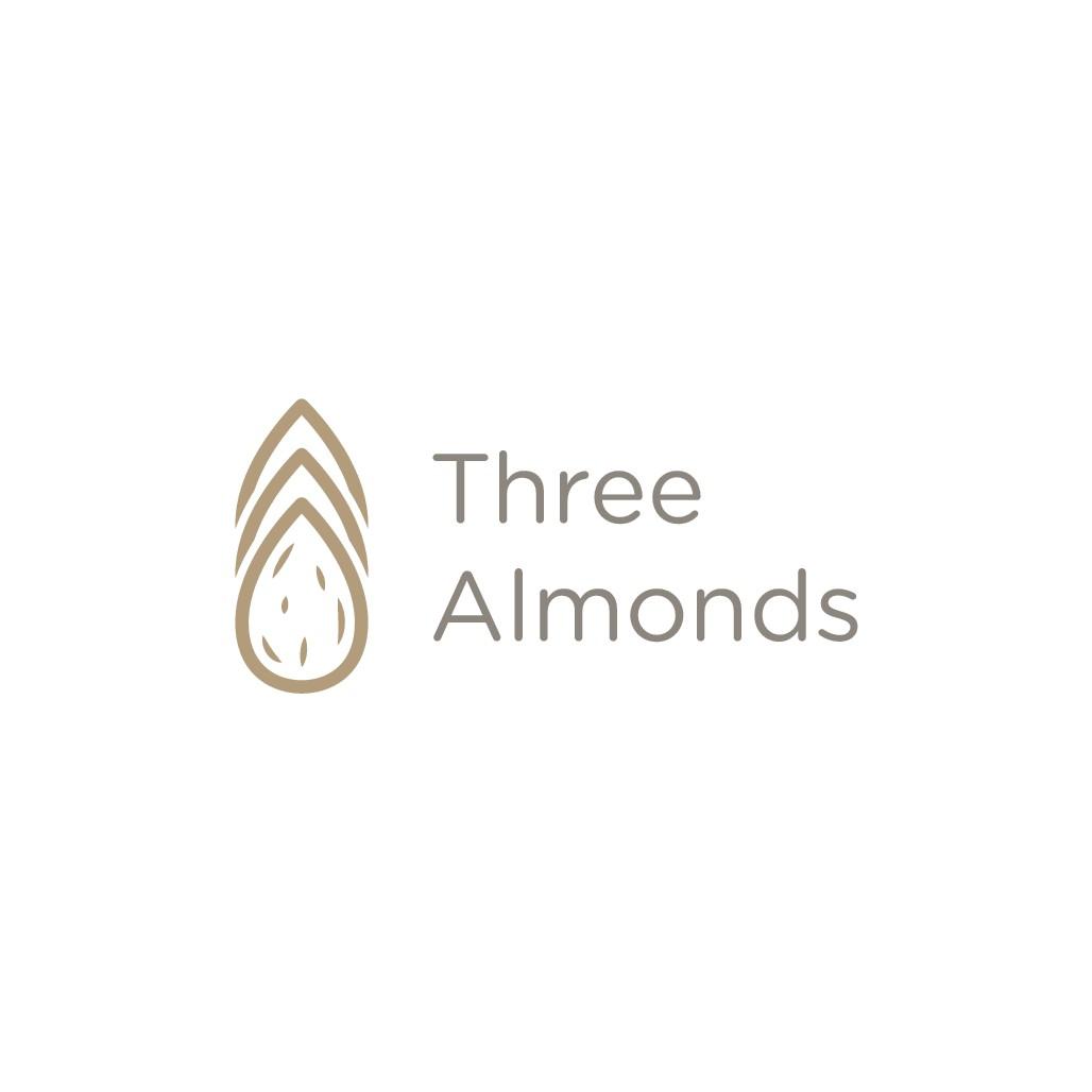 Three Almonds Logo