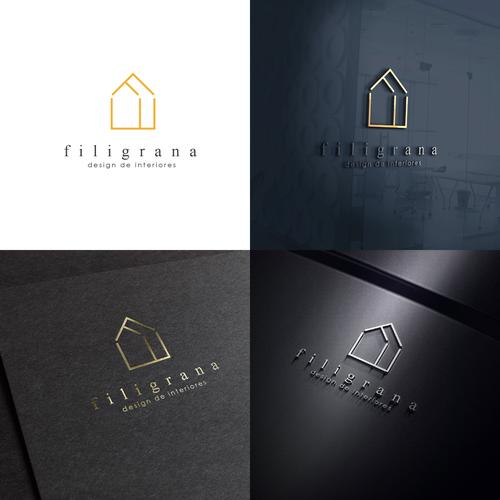 Modern ldentity for Filigrana - Decoration Company