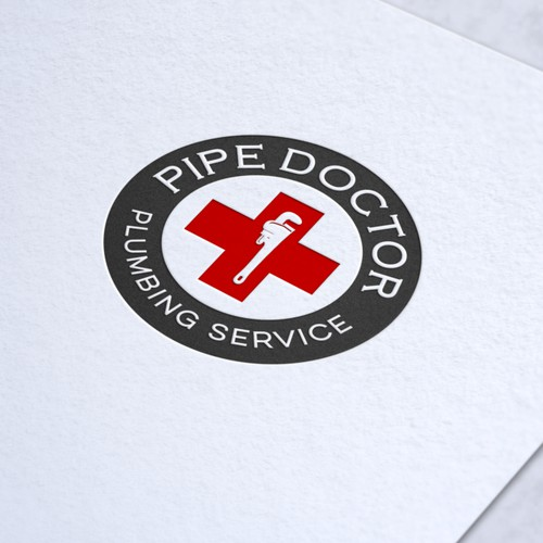 Logo & Jimdo website for Pipe Doctor Plumbing Service