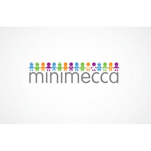 Modern/creative LOGO for online kids boutique - minimecca