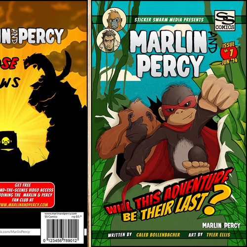 Design Comic Book Cover For Cool New Kid's Comic Book Series