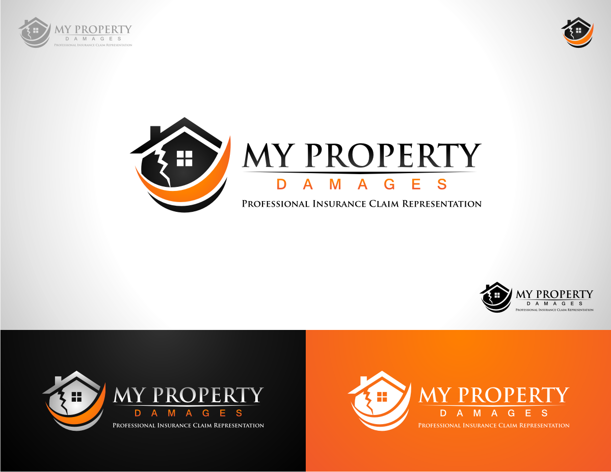 My Property Damages needs their FIRST logo designed.