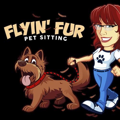 Flyin' Fur Logo