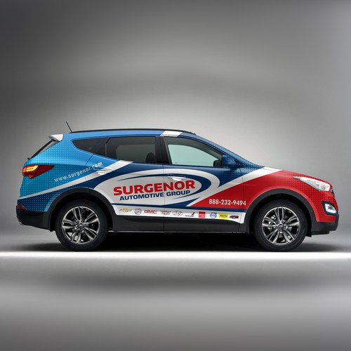 Surgenor Car Wrap