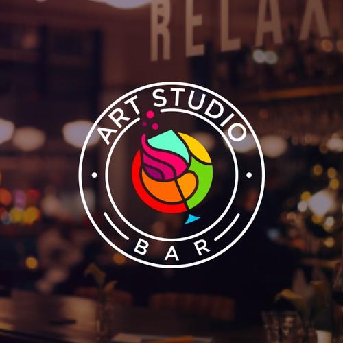 Playfull and Fun bar logo