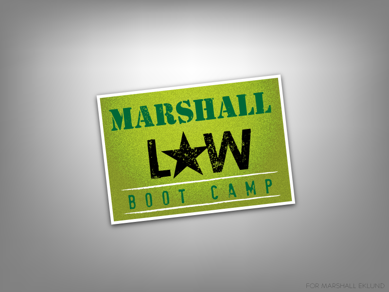 MARSHALL EKLUND Boot Camp