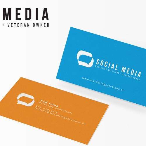Logo Social Media  Marketing Company