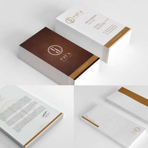 Logo and brand identity for rai's