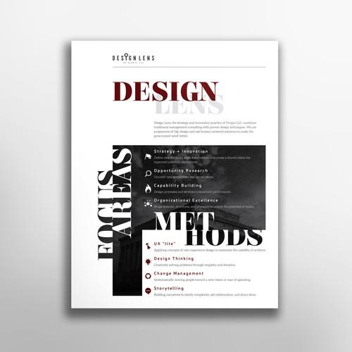 Typographic handout