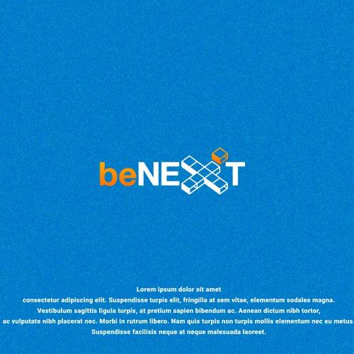 be next logo concept