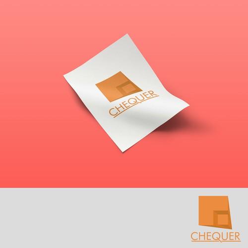 Logo concept for Chequer
