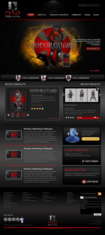 Create the next website design for 314 Design Studio