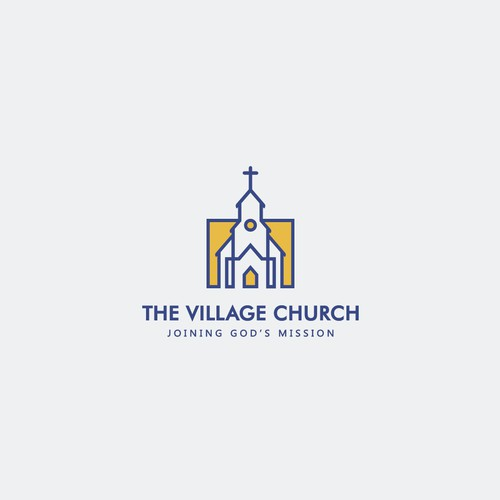 The Village Church Concept Logo