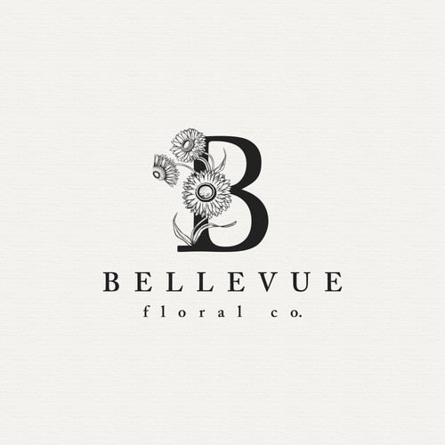 Logo Design for Bellevue Floral Co.