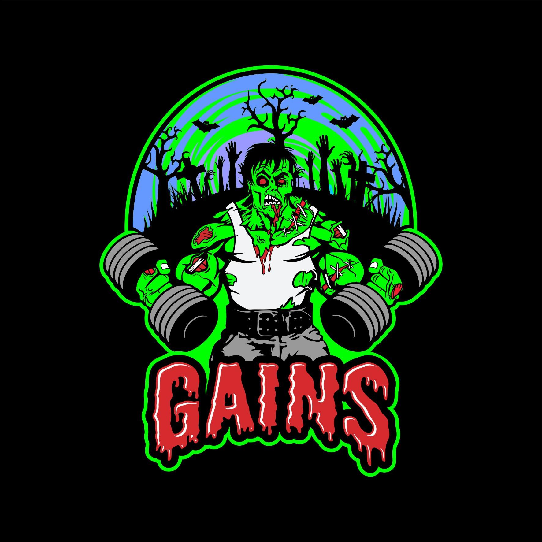 Fitness Halloween Zombies