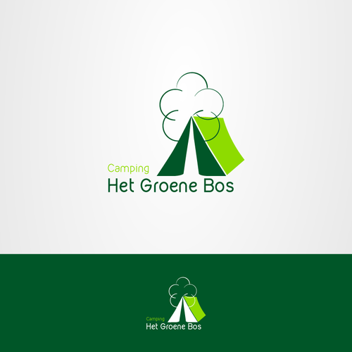 new logo for existing green campsite