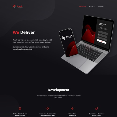 Website for IT company