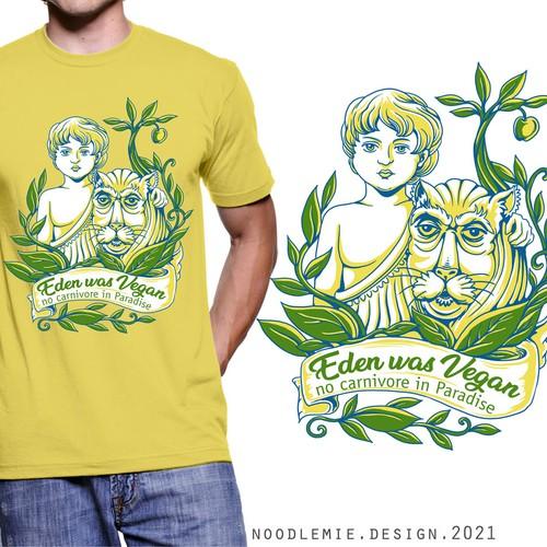 A Vegan Paradise T-shirt
