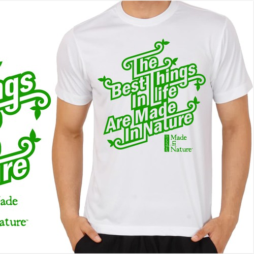 Tee Shirt for an Edgy Organic Food Company