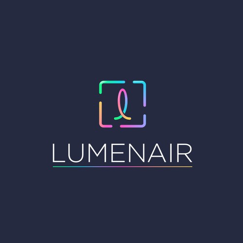 colorful logo for lighting company