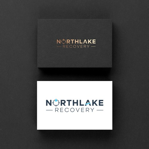 Logo design for Northlake Recovery.