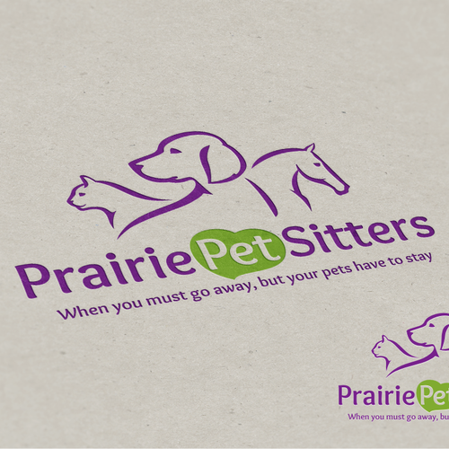 New outstanding logo needed for Prairie Pet Sitters
