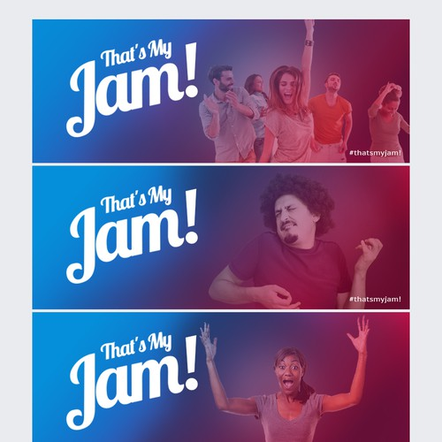 Facebook page banner for the That's My Jam App