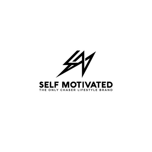 Sophisticated logo concept for SELF MOTIVATED