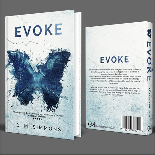 Evoke YA Novel Cover