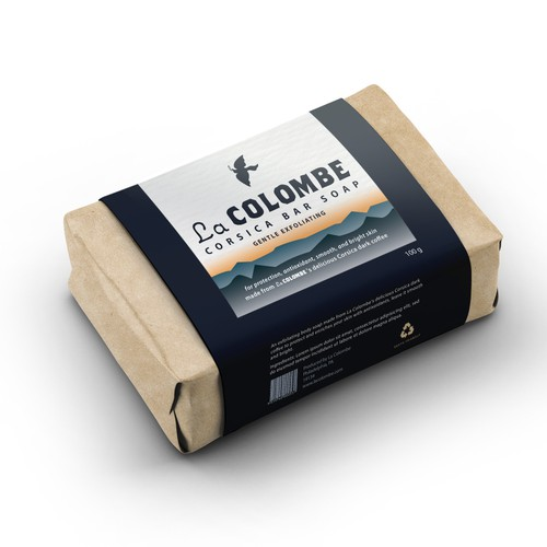 Product packaging design for La Colombe