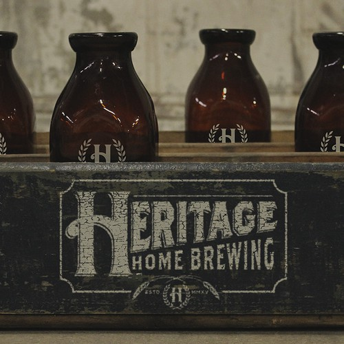 Logo concept for Heritage Home Brewing
