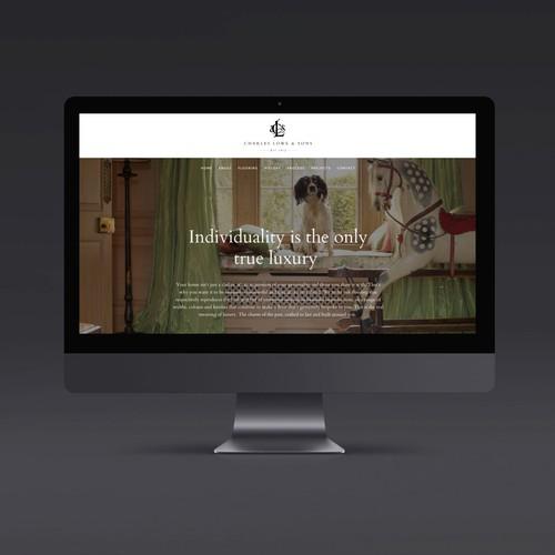 Charles Lowe & Sons Website
