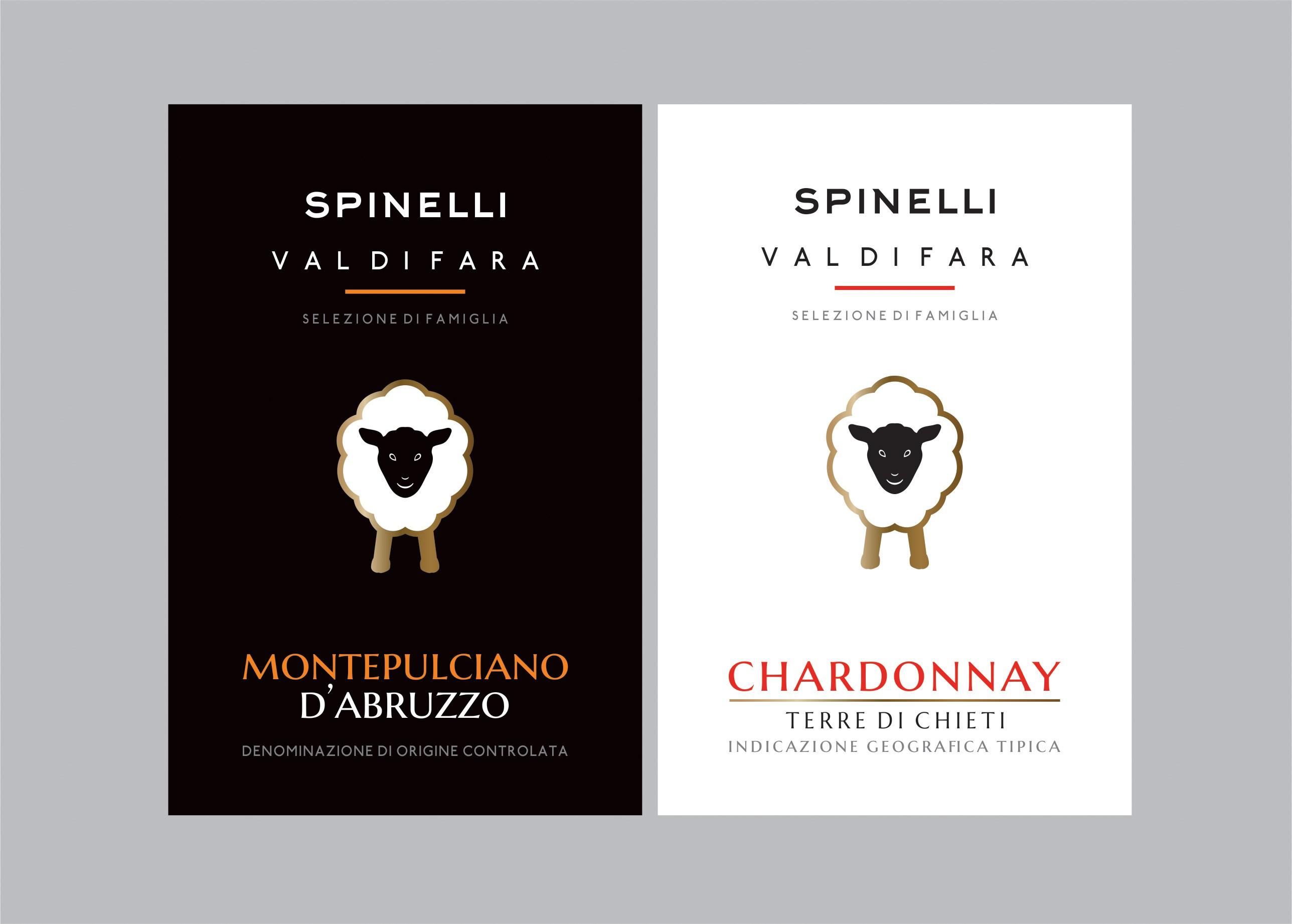 Weinetikett Italien, Spinelli