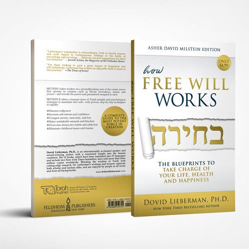 Luxury, minimalistic book cover